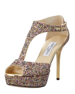Jimmy-Choo-Tribe-Glitter-T-Strap-Sandal-Golden-Multi