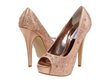 Steve Madden - peep toe glittering stones (1)