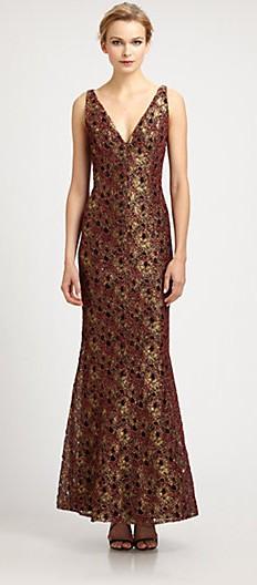Carmen_Marc_Valvo_Metallic_Lace_Gown