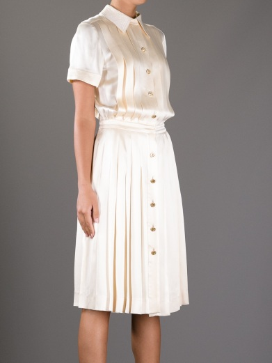 Chanel_ white dress vintage_2