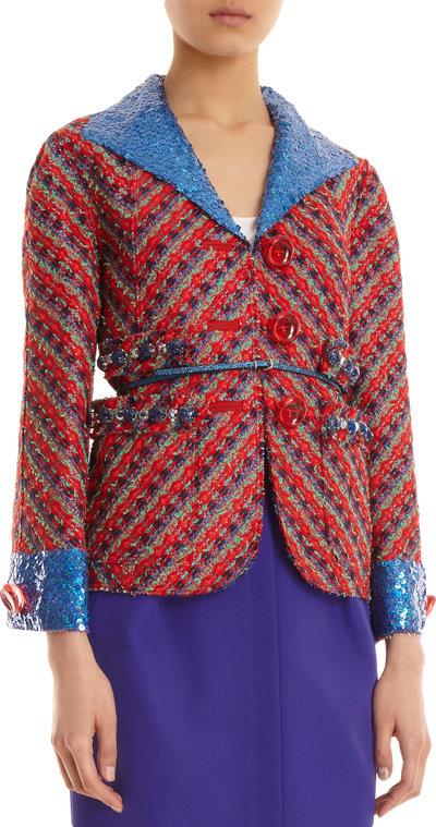 MarcJacobs_Sequin collar tweed jacket_part
