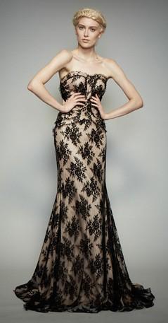 new styles a8e51 9eed0 Vestito rosa cipria e pizzo nero – Vestiti da cerimonia