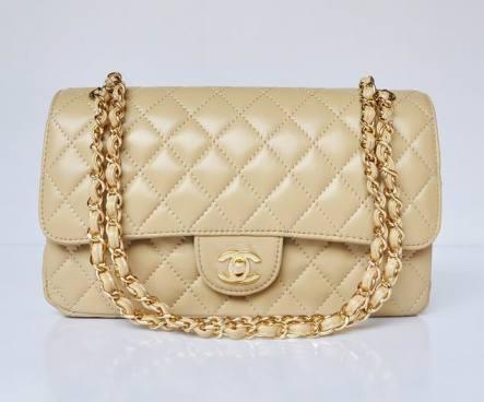 Chanel_bag apricot
