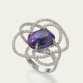 Purple sapphire ring_Tamsen