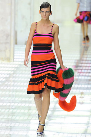 Prada, Multicolor dress