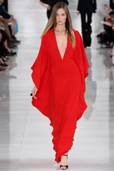 Ralph Laurent, caftan dress