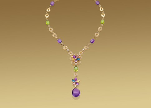 Bulgari, Sapphire collier