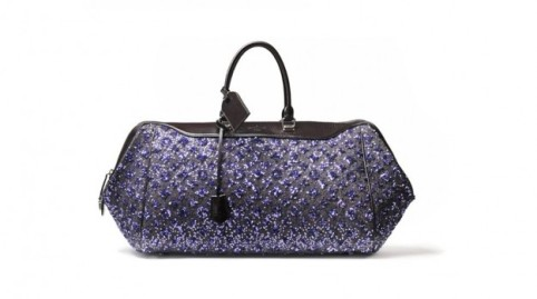 Louis Vuitton Monogram Sunshine Express Baby purple bag.