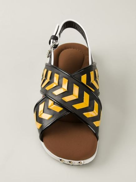 Marni_Chevron sandals