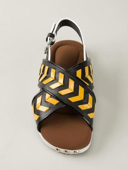 Marni_Chevron sandals