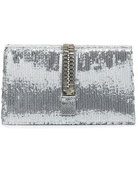 Tom Ford - Silver Zip Clutch