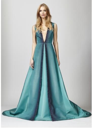 Pamella Roland_faille gown