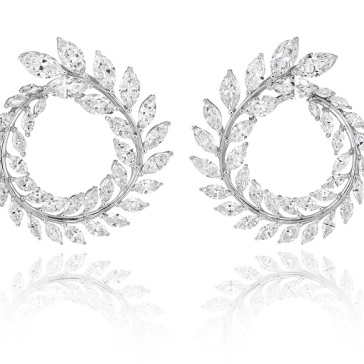 Chopard - Green Carpet Collection earrings