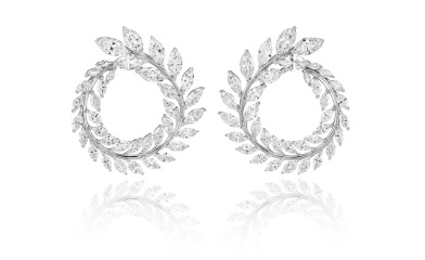 Chopard_Earrings Green Carpet Collection