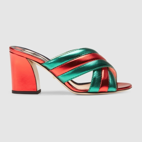 Gucci_green-and-red-leather-metallic-leather-crossover-sandal-greenjpeg