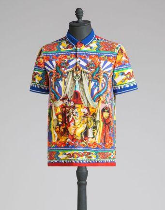 Dolce Gabbana_polo stampata