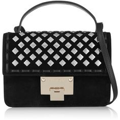 JIMMY CHOO_Rebel crossbody studded bag