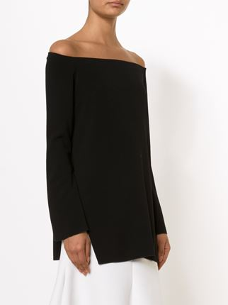 ellery-black-queenie-decolletage-tunic