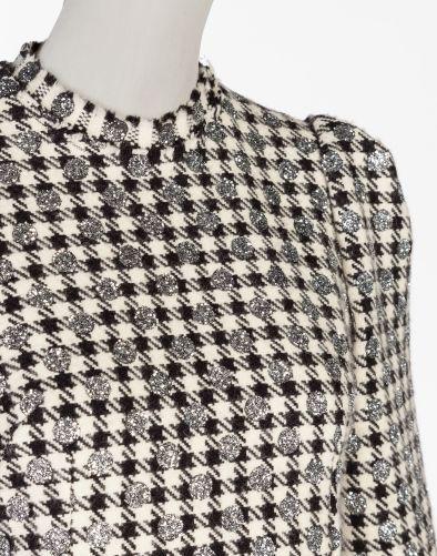 Dolce&Gabbana - Wool Houndstooth Dress