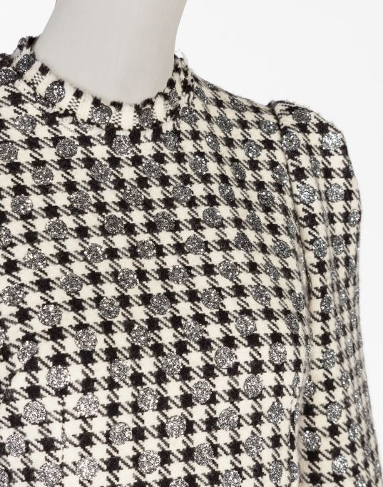 Dolce&Gabbana - Wool Houndstooth Dress