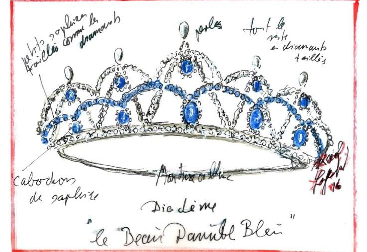 lagerfeld-tiara