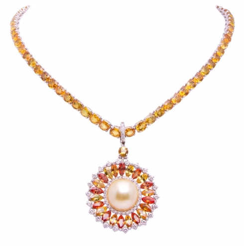 Ella Gafter_yellow-sapphires-and-diamonds-necklace