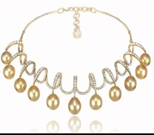 Chopard_australian pearls necklace