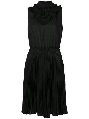 Prada, sleeveless plissè dress