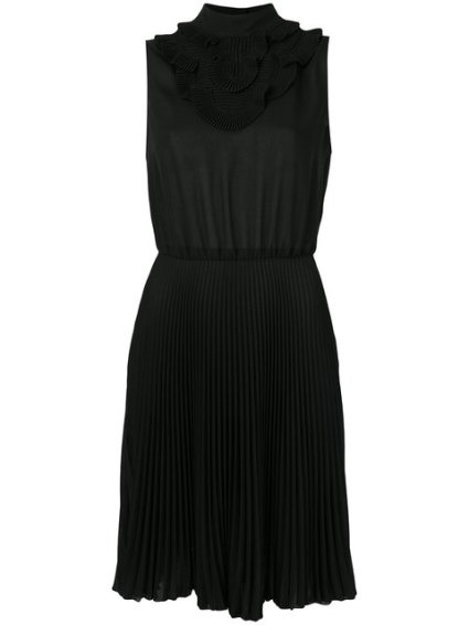 Prada, sleeveless plissè dress