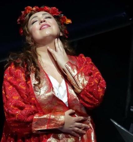 """Zandonai,""""Francesca da Rimini"""", directed by David Pountney, Teatro alla Scala 2018. Maria Josè Siri."""