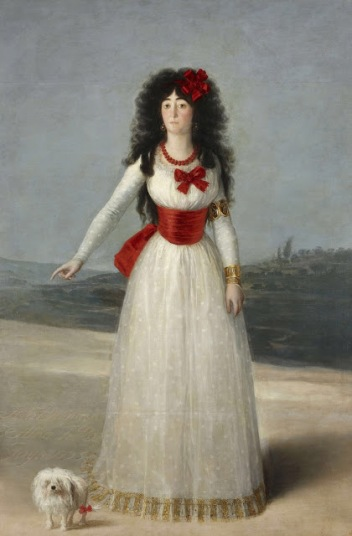 F. Goya, Duchess of Alba in white, 1795