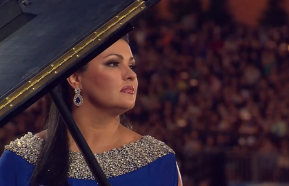 Anna Netrebko at Fifa World Cup Gala Concert, Moscow 2018