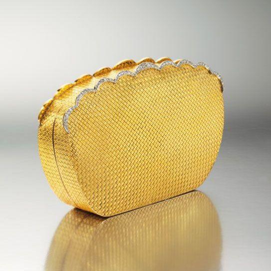 VCA Maria Callas gold-and diamond evening bag