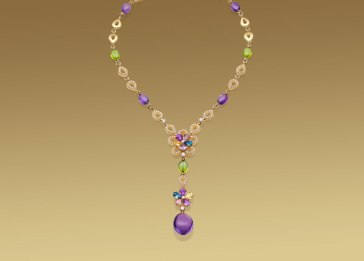 Bulgari, Sapphire Flower collection