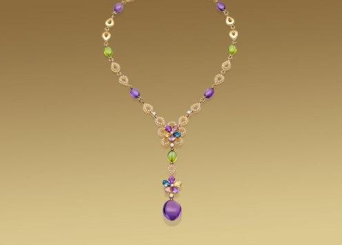 Bulgari, Sapphire Flower collection