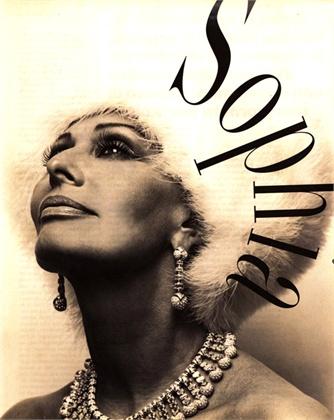 Vogue Italia, ottobre 1992. Vogue Italia, ottobre 1992. Sophia Loren