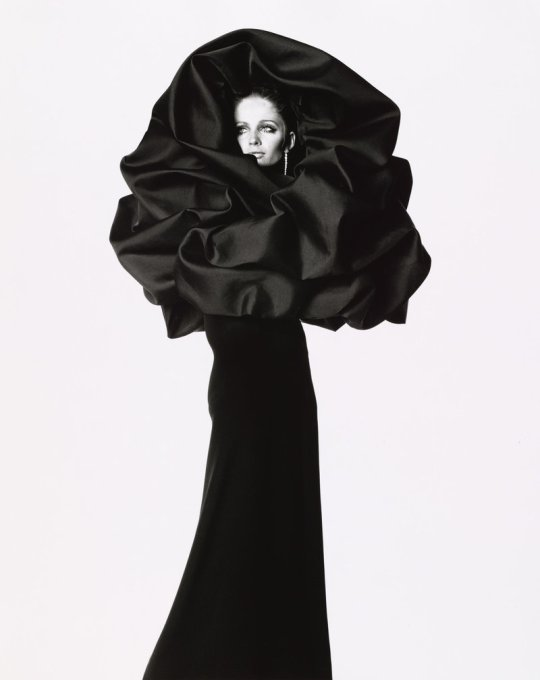 Balenciaga, Rose dress, photo by Irving Penn, 1967