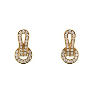 Cartier-agrafe-earrings-in-yellow-gold-and-diamonds
