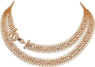 Cartier, Agrafe necklace and earrings