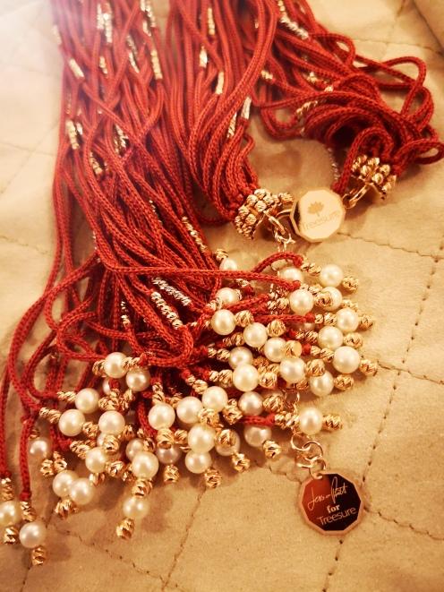 Treesure necklace especially created for Jessica Pratt