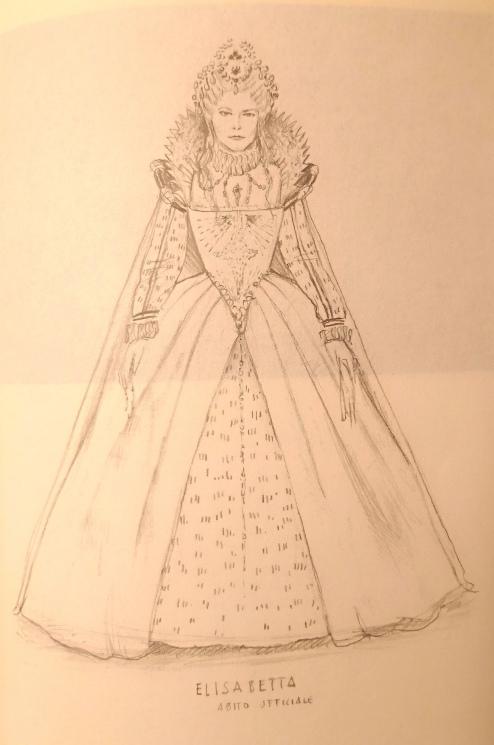 """Sketch for """"Il Castello di Kenilworth"""", Donizetti Opera 2018"""