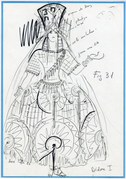 Les-Troyens-costume-for-Dido-by-Karl-Lagerfeld-1981